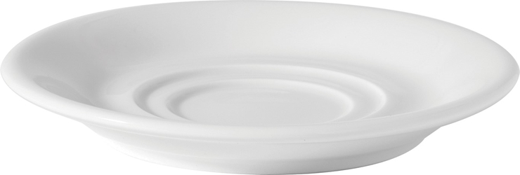 "Double Well Saucer  5.5"" / 15cm (36 Pack)"