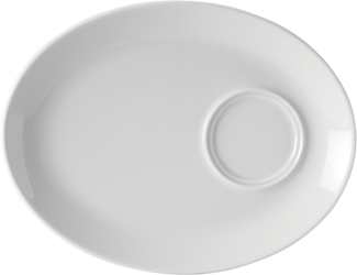 "Oval Gourmet Plate 11"" / 28cm (6 Pack)"