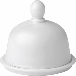 "Butter Dish with Lid 3"" / 8cm (6 Pack)"