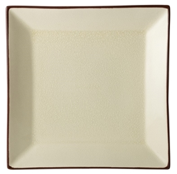 "Stone Square Plate 10"" / 25cm (6 Pack)"