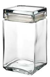 Square Biscotti Jar 1.5L (6 Pack)