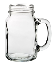 Tennessee Handled Jar 22oz / 63cl (24 Pack)