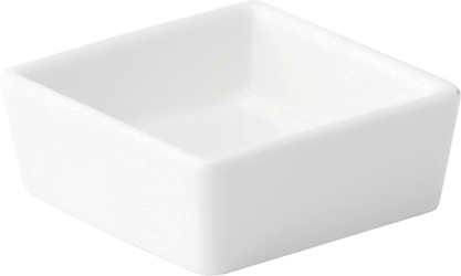 "Shallow Square Dish 2.5"" / 6.5cm 9oz / 2.6cl (6 Pack)"