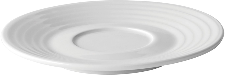 "Edge Coupe Saucer 5.75"" /  15cm - Can be used with Z03070, Z03081 & Z03066 (6 Pack)"
