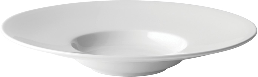 "Mira Wide Rim Pasta Plate 11"" / 28cm 6oz / 17cl (6 Pack)"