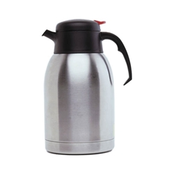 Stainless Steel Vacuum Push Button Jug 1.2L (Each) Stainless, Steel, Vacuum, Push, Button, Jug, 1.2L, Nevilles