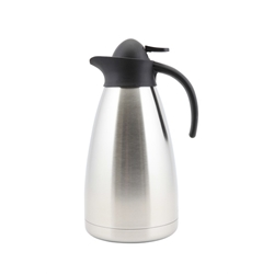 Genware Stainless Steel Contemporary Vacuum Jug 1.5L (Each) Genware, Stainless, Steel, Contemporary, Vacuum, Jug, 1.5L, Nevilles