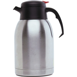 Stainless Steel Vacuum Push Button Jug 2.0L (Each) Stainless, Steel, Vacuum, Push, Button, Jug, 2.0L, Nevilles