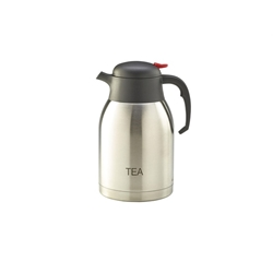 Tea Inscribed Stainless Steel Vacuum Jug 2.0L (Each) Tea, Inscribed, Stainless, Steel, Vacuum, Jug, 2.0L, Nevilles