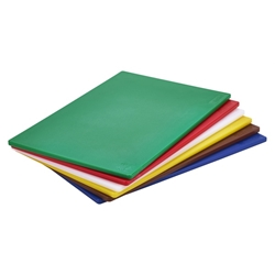 White Poly Cutting Board 18 x 12 x 0.5 (Each) White, Poly, Cutting, Board, 18, 12, 0.5, Nevilles