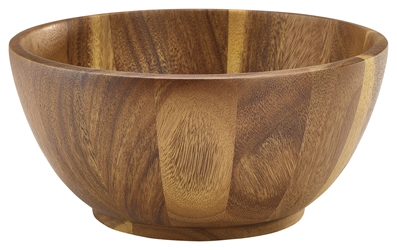 Acacia Wood Bowl 25cm x 12cm (Each) Acacia, Wood, Bowl, 25cm, 12cm, Nevilles