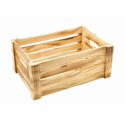 Wooden Crate Rustic Finish 34 x 23 x 15cm (Each) Wooden, Crate, Rustic, Finish, 34, 23, 15cm, Nevilles