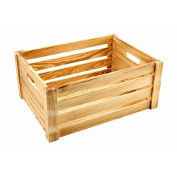 Wooden Crate Rustic Finish 41 x 30 x 18cm (Each) Wooden, Crate, Rustic, Finish, 41, 30, 18cm, Nevilles