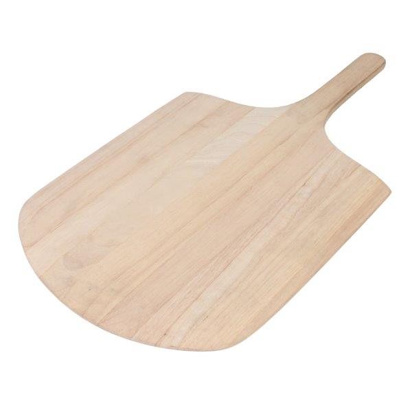 Wooden Pizza Peel 305mm x 356mm / 12? x 14? Blade, 559mm / 22? Overall