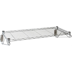 Wall Mounted Wire Shelf 36(w) x 14(d) (Each) Wall, Mounted, Wire, Shelf, 36w, 14d, Nevilles