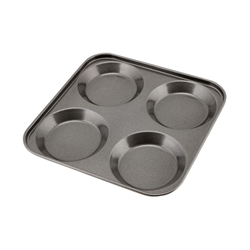 Carbon Steel Non-Stick 4 Cup York. Pudd Tray (Each) Carbon, Steel, Non-Stick, 4, Cup, York., Pudd, Tray, Nevilles