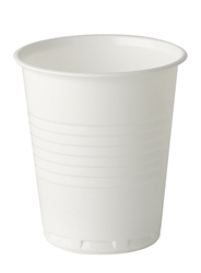 7oz Squat PS Premium White Non-vending cup (20 x 100 Pack)