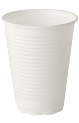 7oz Tall PP White Non-vending  cup (20 x 100 Pack)