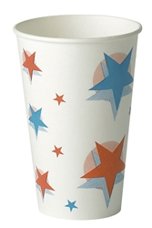 12oz Star/Ball Design (20 x 100 Pack)