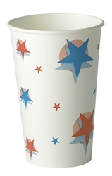 16oz Star/Ball Design (20 x 50 Pack)