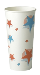 22oz Star/Ball Design (20 x 50 Pack)