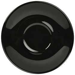 Royal Genware Saucer 12cm Black (6 Pack) Royal, Genware, Saucer, 12cm, Black, Nevilles