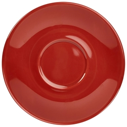 Royal Genware Saucer 12cm Red (6 Pack) Royal, Genware, Saucer, 12cm, Red, Nevilles