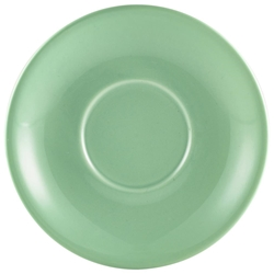 Royal Genware Saucer 16cm Green (6 Pack) Royal, Genware, Saucer, 16cm, Green, Nevilles