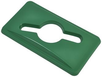 Green Glass Lid For Slim Recycling Bin (Each) Green, Glass, Lid, For, Slim, Recycling, Bin, Nevilles