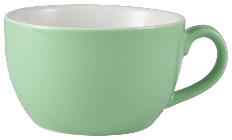 Royal Genware Bowl Shaped Cup 25cl Green (6 Pack) Royal, Genware, Bowl, Shaped, Cup, 25cl, Green, Nevilles