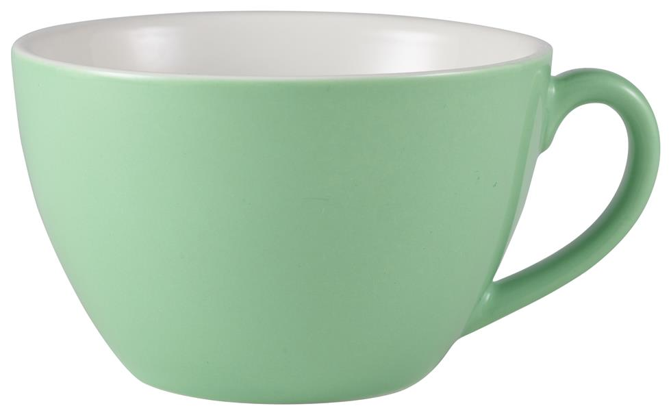 Royal Genware Bowl Shaped Cup 34cl Green (6 Pack) Royal, Genware, Bowl, Shaped, Cup, 34cl, Green, Nevilles