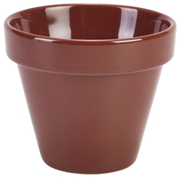 Royal Genware Plant Pot 11.5 x 9.5cm 50cl/17.5oz (4 Pack) Royal, Genware, Plant, Pot, 11.5, 9.5cm, 50cl/17.5oz, Nevilles