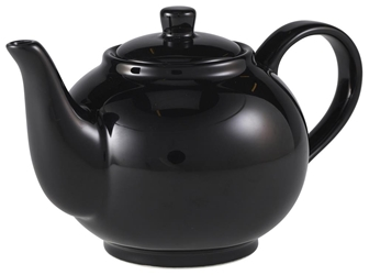 Royal Genware Teapot 45cl Black (6 Pack) Royal, Genware, Teapot, 45cl, Black, Nevilles