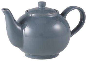 Royal Genware Teapot 45cl Grey (6 Pack) Royal, Genware, Teapot, 45cl, Grey, Nevilles