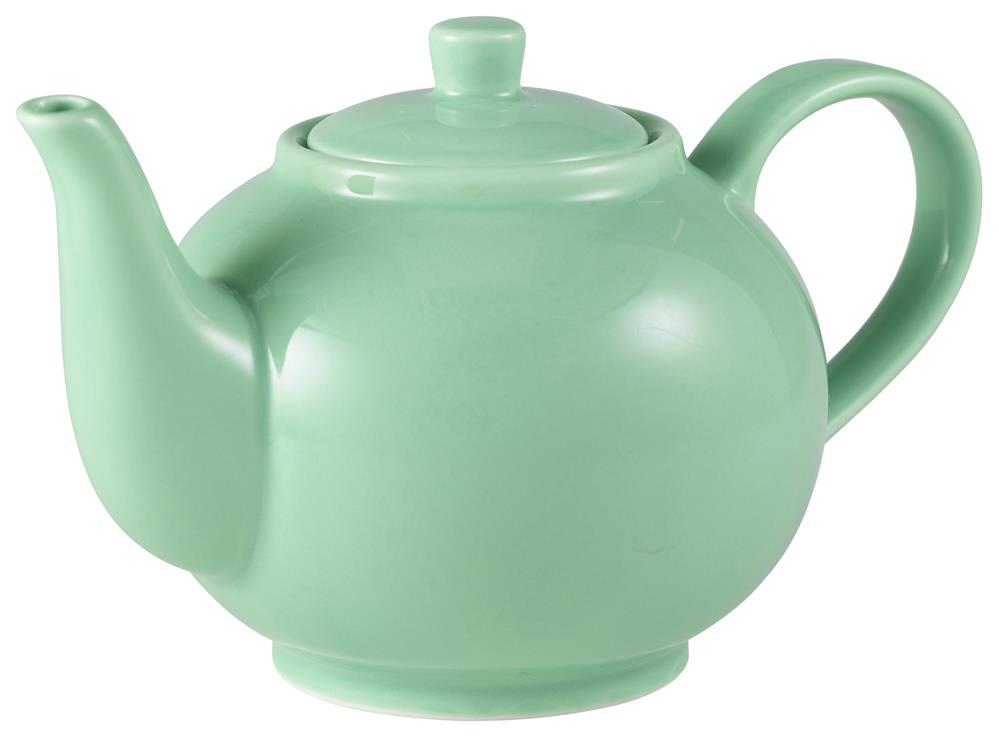 Royal Genware Teapot 45cl Green (6 Pack) Royal, Genware, Teapot, 45cl, Green, Nevilles
