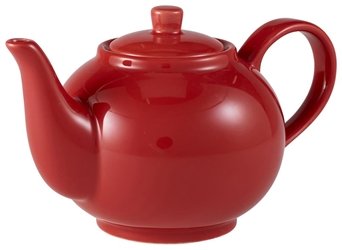 Royal Genware Teapot 45cl Red (6 Pack) Royal, Genware, Teapot, 45cl, Red, Nevilles