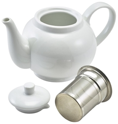 Royal Genware Teapot with Infuser 45cl (6 Pack) Royal, Genware, Teapot, with, Infuser, 45cl, Nevilles