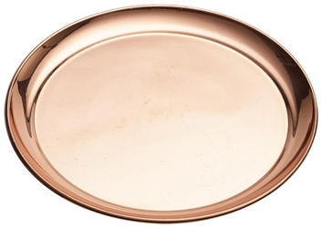 Copper 12 Round Tray 300mm (Each) Copper, 12, Round, Tray, 300mm, Nevilles