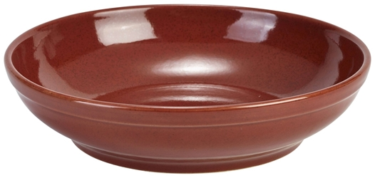 Terra Stoneware Rustic Red Coupe Bowl 23cm (6 Pack) Terra, Stoneware, Rustic, Red, Coupe, Bowl, 23cm, Nevilles
