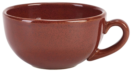 Terra Stoneware Rustic Red Cup 30cl/10.5oz (12 Pack) Terra, Stoneware, Rustic, Red, Cup, 30cl/10.5oz, Nevilles