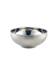 Stainless Steel Double Walled Presentation Bowl 14cm Diameter (Each) Stainless, Steel, Double, Walled, Presentation, Bowl, 14cm, Diameter, Nevilles
