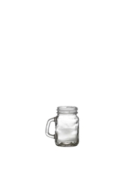 Genware Glass Mini Mason Jar 12cl/4.25oz (12 Pack) Genware, Glass, Mini, Mason, Jar, 12cl/4.25oz, Nevilles