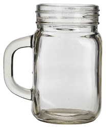 Genware Glass Mason Jar 45cl / 16oz (12 Pack) Genware, Glass, Mason, Jar, 45cl, 16oz, Nevilles