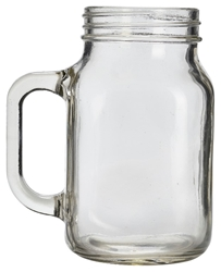 Genware Glass Mason Jar 50cl / 17.5oz (12 Pack) Genware, Glass, Mason, Jar, 50cl, 17.5oz, Nevilles