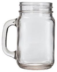 Genware Glass Mason Jar 68cl / 24oz (6 Pack) Genware, Glass, Mason, Jar, 68cl, 24oz, Nevilles