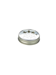Genware Glass Mason Jar Lid (60 Pack) Genware, Glass, Mason, Jar, Lid, Nevilles
