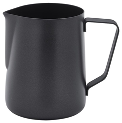 Non-Stick Black Milk Jug 340ml/12oz (Each) Non-Stick, Black, Milk, Jug, 340ml/12oz, Nevilles