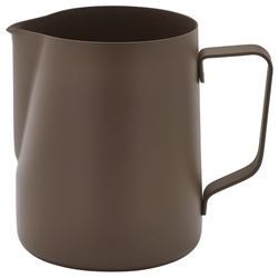 Non-Stick Brown Milk Jug 340ml/12oz (Each) Non-Stick, Brown, Milk, Jug, 340ml/12oz, Nevilles