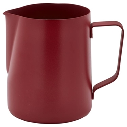Non-Stick Red Milk Jug 340ml/12oz (Each) Non-Stick, Red, Milk, Jug, 340ml/12oz, Nevilles