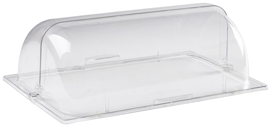 Polycarbonate GN 1/1 Roll Top Cover (Each) Polycarbonate, GN, 1/1, Roll, Top, Cover, Nevilles
